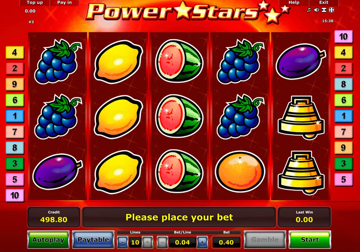 Jocuri Cu Aparate Power Stars